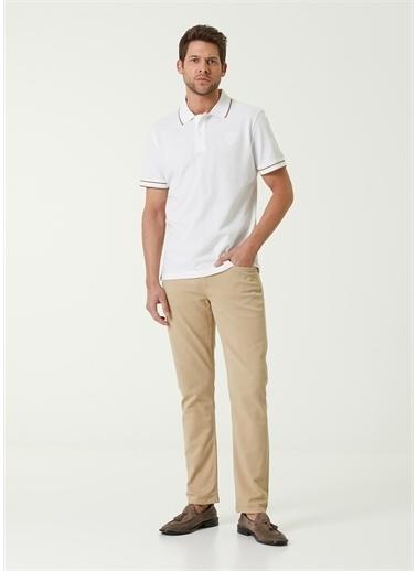 Corneliani Polo Yaka T-shirt Beyaz